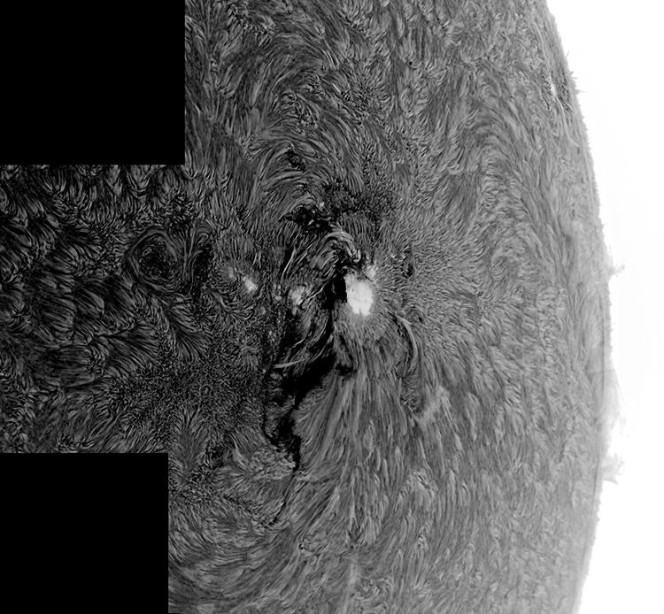 AR2192 area with HaT Soalr telescope